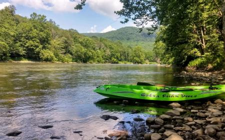 Kayak on the Yough River