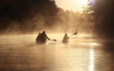 Misty Morning Paddle on the Yough