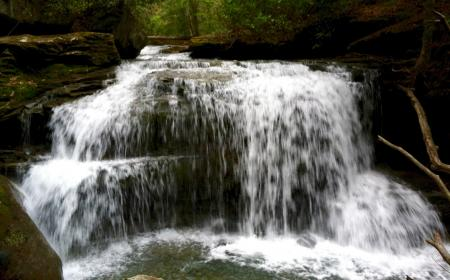 Waterfall in the Laurel Highlands