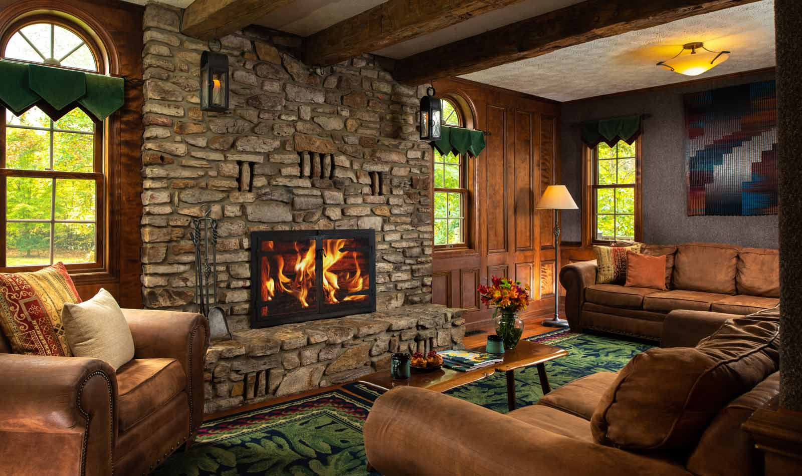 Indoor Fire Place